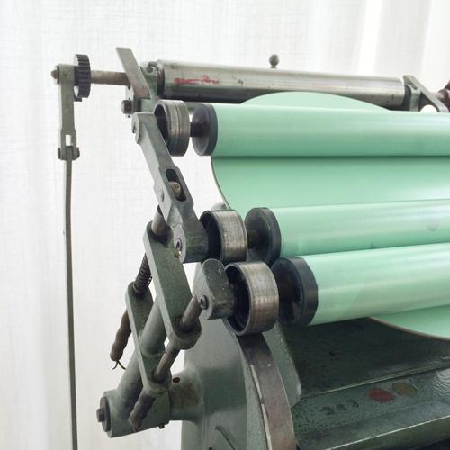 Letterpress ist Handwerk