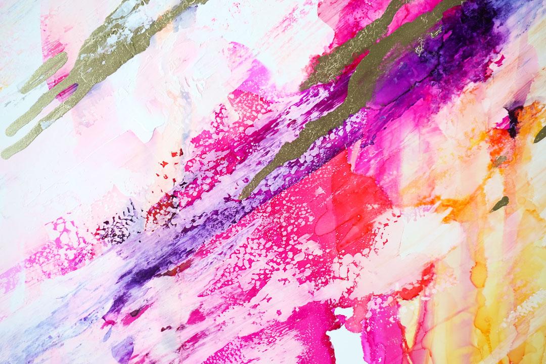 Detail - Farben im Sturm
